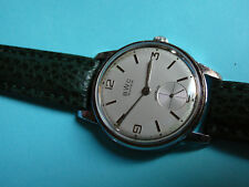 BWC vintage Armbanduhr mechanisch Handaufzug AS 1130 wristwatch