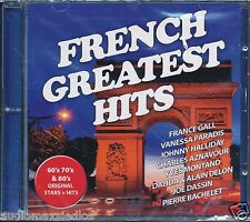 FRENCH GREATEST HITS  [CD] Jean-Francois Maurice Vanessa Paradis