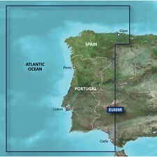 Garmin Bluechart G2 HXEU009R - Portugal  and  Northwest Spain - Micro SD/SD