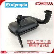 Marmitta Scarico Piaggio Vespone Vespa Px E Pe Pxe Arcobaleno 125 150 Rif 417806