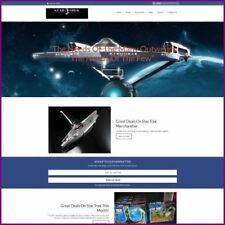 STAR TREK Website Business For Sale|Earn $40.00 A SALE|FREE Domain|FREE Hosting