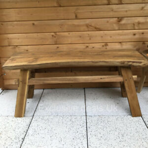 Retro Vintage Bench Handmade Rustic Style Wooden Hall Hallway Furniture Seat
