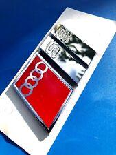 Logo AUDI A3 8L S3 Trunk Badge Original 8L78537372ZZ Rare Last Example