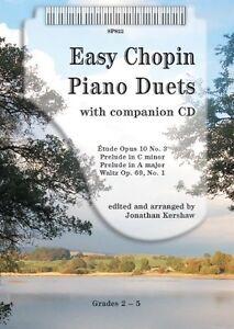 Easy Chopin Piano Duets- Grade: 2 - 5, SP822, Spartan Press