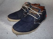 The Art Company denim flat shoes/trainers size 38 5 uk very good condition-rare