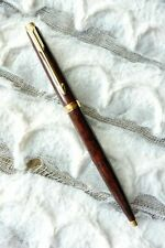 Parker 75 Premier Thuya Brown Chinese Lacque & Gold Ballpoint  Pen In Box  **