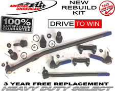 HD Ball Joint Tie Rod Drag Link Sleeve Kit fits Ford F150 4x4 86 - 96