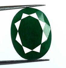 8 Ct + émeraude verte brésilienne, pierres précieuses naturelles, taille ovale