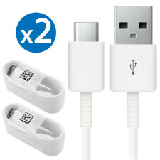 2x OEM Type-C Cable For Samsung Galaxy S8 S8 Plus Note 8 Fast Charger Data Sync