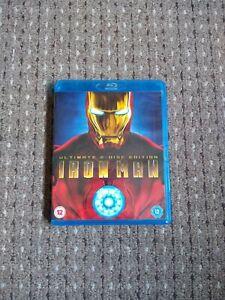 Iron Man (2008) Ultimate 2-Disc Edition Blu-Ray