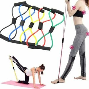 Yoga Resistance Exercise Gym Fitness Equipment Training Tubing Tension Rope