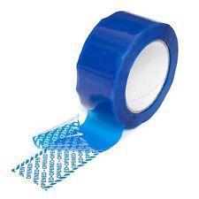 Nastro adesivo anti manomissione colore blu 50mm x 50 MT antimanomissione