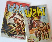 "lot magazines  "" WAKI "" édition LUG  1974"