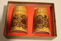 ROYAL WORCESTER PALISSY SALT AND PEPPER