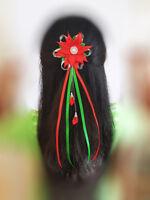 Christmas Hair Clip Women Girls Christmas Bow Gift Accessories Xmas Hairpin