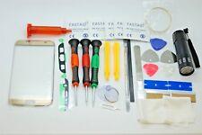 SAMSUNG S7 BORDO ORO schermo in vetro Set di riparazione, colla, cacciaviti, strumenti di qualità