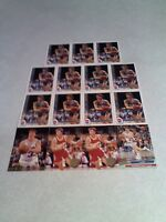 Jim Les:  Lot of 49 cards.....9 DIFFERENT / Basketball