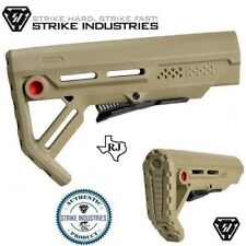 Strike Industries Viper FDE/RedQD MOD-1 MSpec Compact QD minimalist Stock Mod1
