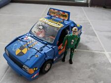 Tyco Crash Dummies Vince And Larry Student Driver With Axel US DOT,  Blue Car