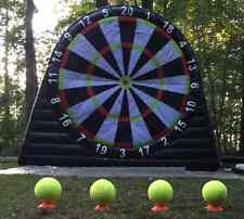 Commercial Giant Dartboard  3m x 3m and 6 x Darts Footballs UK company.