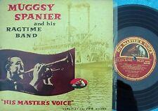 "Muggsy Spanier & Ragtime Band ORIG OZ 10"" ST LP VG+ '56 HMV MONO Jazz ODLP1031"