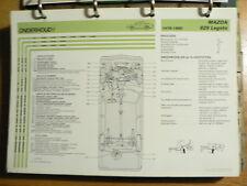 MAZDA 929 LEGATO 1978-80 INFO TECHNICAL INFORMATION CAR AUTO  OLY071