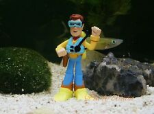 Fish Tank Ornament Aquarium Decoration Woody Diver Toy Story Disney K1085_C