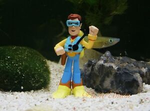Fish Tank Ornament Aquarium Decoration Woody Diver Toy Story Disney K1085_C
