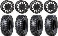 "System 3 SB-5 Black 15"" Wheels 35"" Chicane RS Tires Kawasaki Teryx Mule"