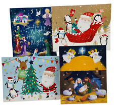 Advent Calendar Traditional Nativity Christmas Countdown Children Gift Envelope