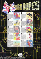 CSS-015 - 2012 London Olympics 'High Hopes' Commemorative Stamp Sheet
