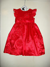 SARAH LOUISE RED CEREMONIAL BALLERINA LENGTH OCCASION DRESS AGE 2 YRS BRAND NEW