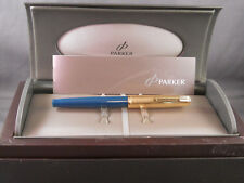Parker English Rolled Gold Cap 51 fountain pen- fine point