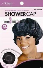 """Magic Collection water Proof Shower Cap X-Large 21""""  #2160 Black"""
