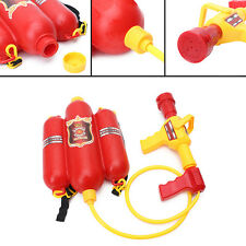 Children Fireman Backpack Nozzle Water Gun Outdoor Beach Toy Extinguisher Soaker