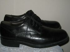 Bill Blass Men's Made in Italy Lace Up Leather Dress Shoes Black Size 10 1/2 D