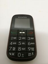 ALCATEL ONETOUCH Alcatel One Touch 282 Black Unlocked Senior Mobile Phone Boxed