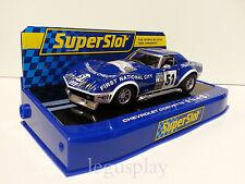 Slot SCX Scalextric Superslot H3654 Chevrolet Corvette L88 Le Mans 1974