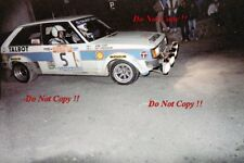 Guy FREQUELIN & Jean Todt TALBOT SUNBEAM LOTUS RALLY SAN REMO 1980 fotografia 1