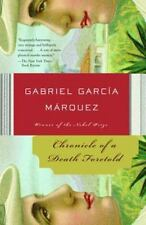"""GABRIEL GARCIA MARQUEZ: """"Chronicle of a Death Foretold"""" (like new paperback)"""