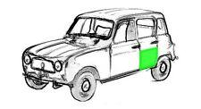 Reparaturblech - Türblech hinten links für Renault R4