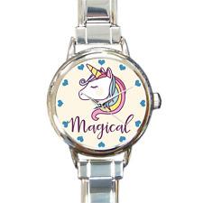 Magical Unicorn Charm Bracelet Charm Watch Analog Quartz Battery Girls Gift