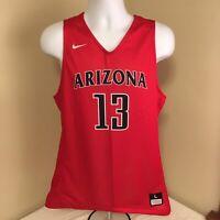 Nike Mens Basketball Jersey Arizona Wildcats #13 Large Sample Red Free Shipping