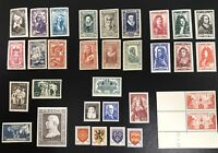 France 1940s Collection MNH
