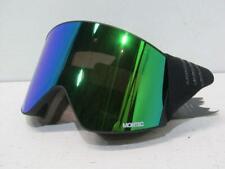 New ListingMontec Scope Medium Ski Goggles - Black W/Black Tourmaline Green