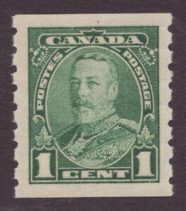 Sc# 228 - Canada - 1c - KGV - Pictorial Coil  1935 - GEM MNH -  Superfleas cv$30