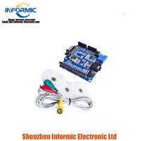 ECG-EMG-EKG-SHIELD EMG ECG expansion board Set 5hz For Arduino