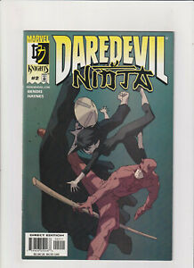 Daredevil: Ninja #2 NM- 9.2 Marvel Comics 2001 Brian Bendis