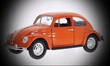 VW Käfer Beetle 1967 orange 1:24 Lucky Die Cast