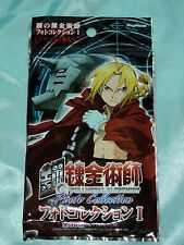 3x Fullmetal (Full Metal)  Alchemist Photo Collection sealed trading cards pack